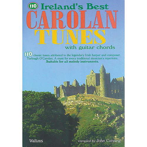 Waltons 110 Ireland's Best Carolan Tunes (with Guitar Chords) Waltons Irish Music Books Series Softcover thumbnail