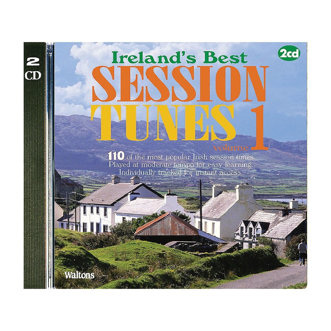 Waltons 110 Ireland's Best Session Tunes - Volume 1 (with Guitar Chords) Waltons Irish Music Books Series CD thumbnail