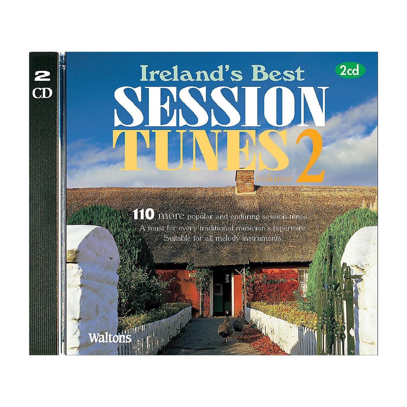 Waltons 110 Ireland's Best Session Tunes - Volume 2 (with Guitar Chords) Waltons Irish Music Books Series CD thumbnail