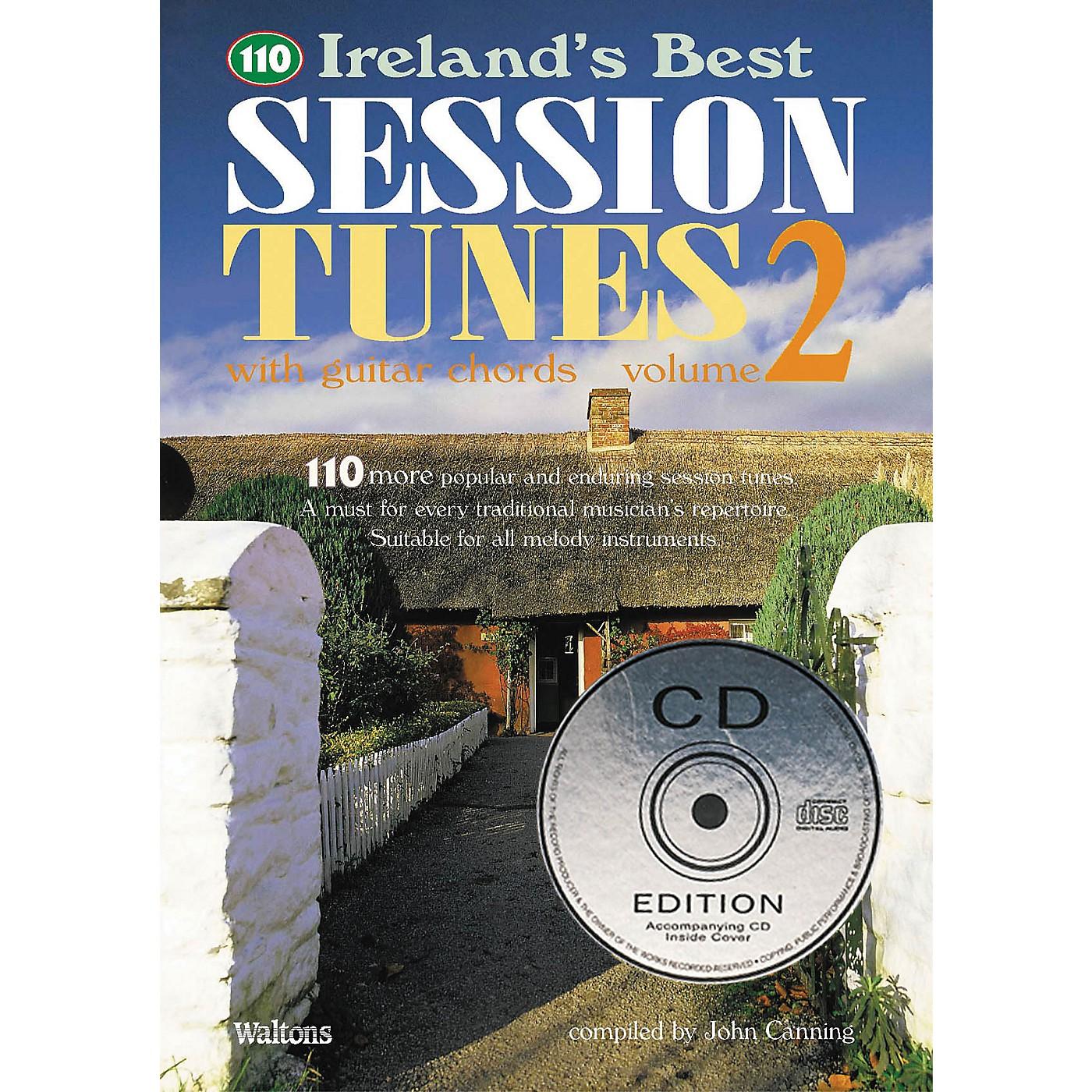 Waltons 110 Ireland's Best Session Tunes - Volume 2 (with Guitar Chords) Waltons Irish Music Books Series thumbnail