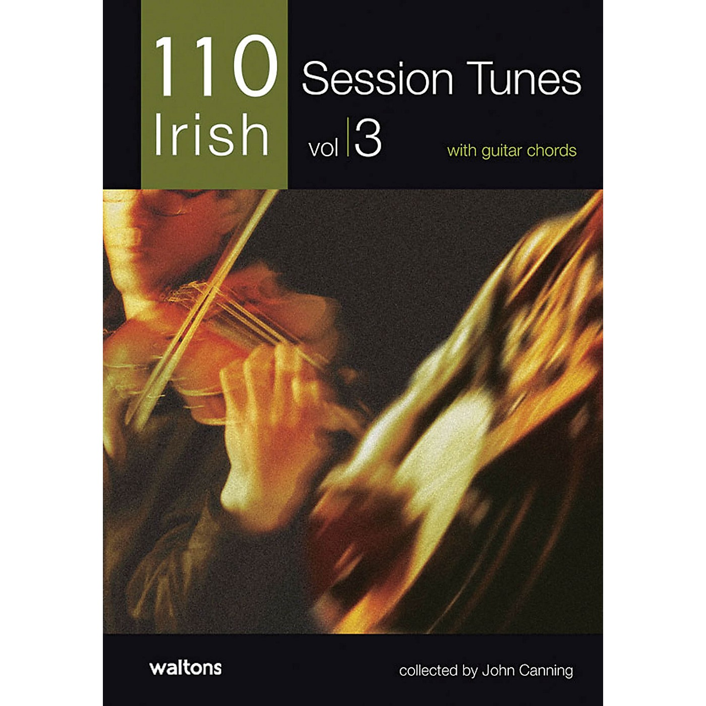 Waltons 110 Ireland's Best Session Tunes - Volume 3 (with Guitar Chords) Waltons Irish Music Books Series thumbnail