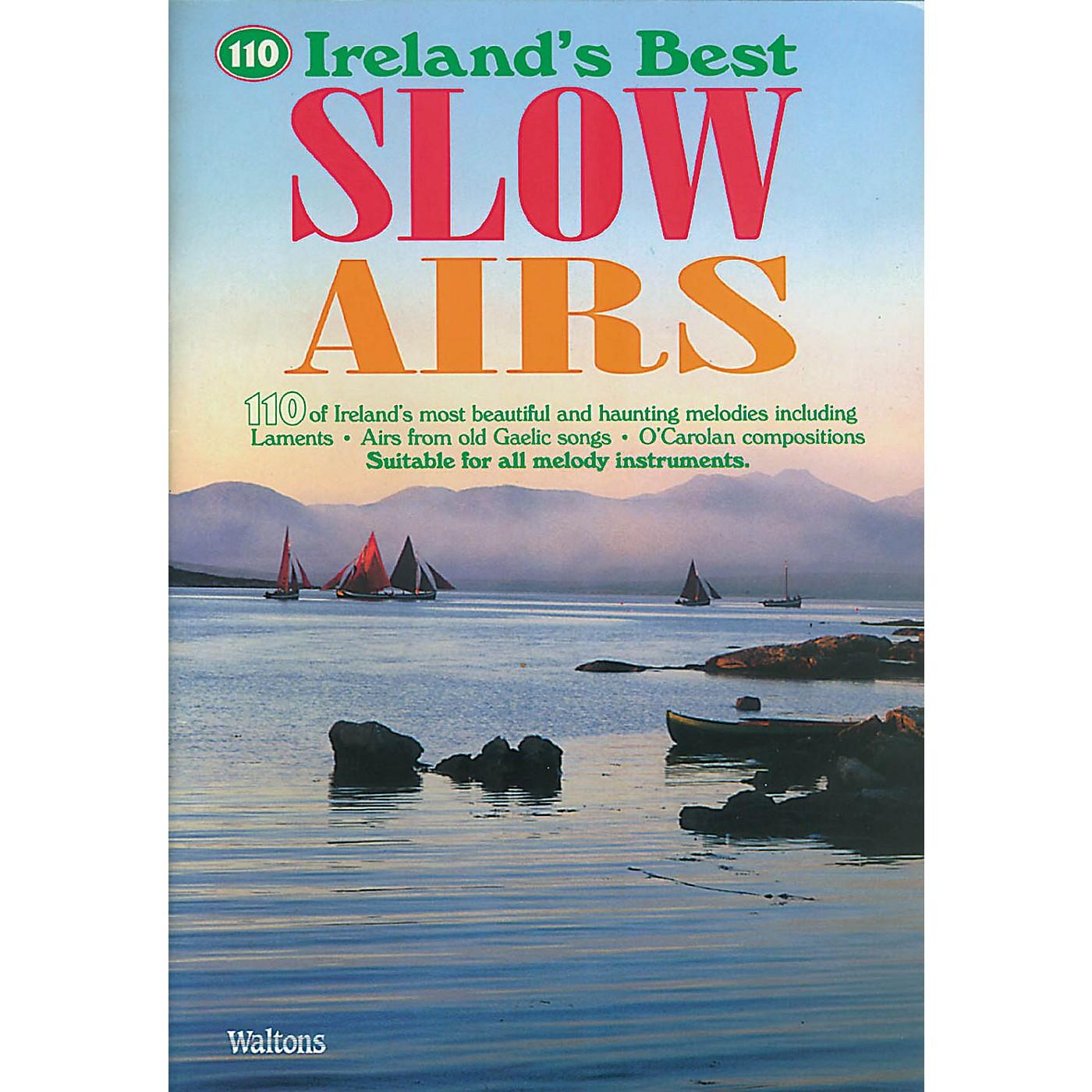 Waltons 110 Ireland's Best Slow Airs Waltons Irish Music Books Series Softcover thumbnail