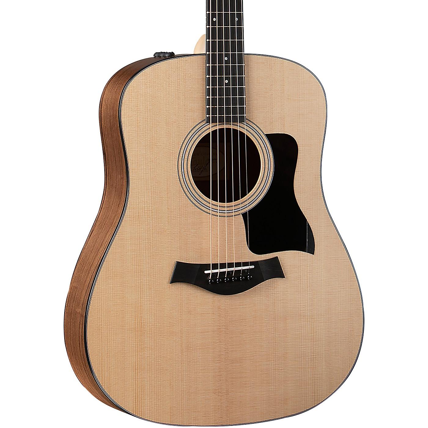 Taylor 110e Dreadnought Acoustic-Electric Guitar thumbnail