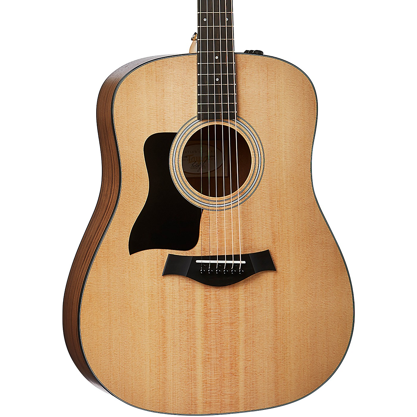Taylor 110e-LH Left-Handed Dreadnought Acoustic-Electric Guitar thumbnail