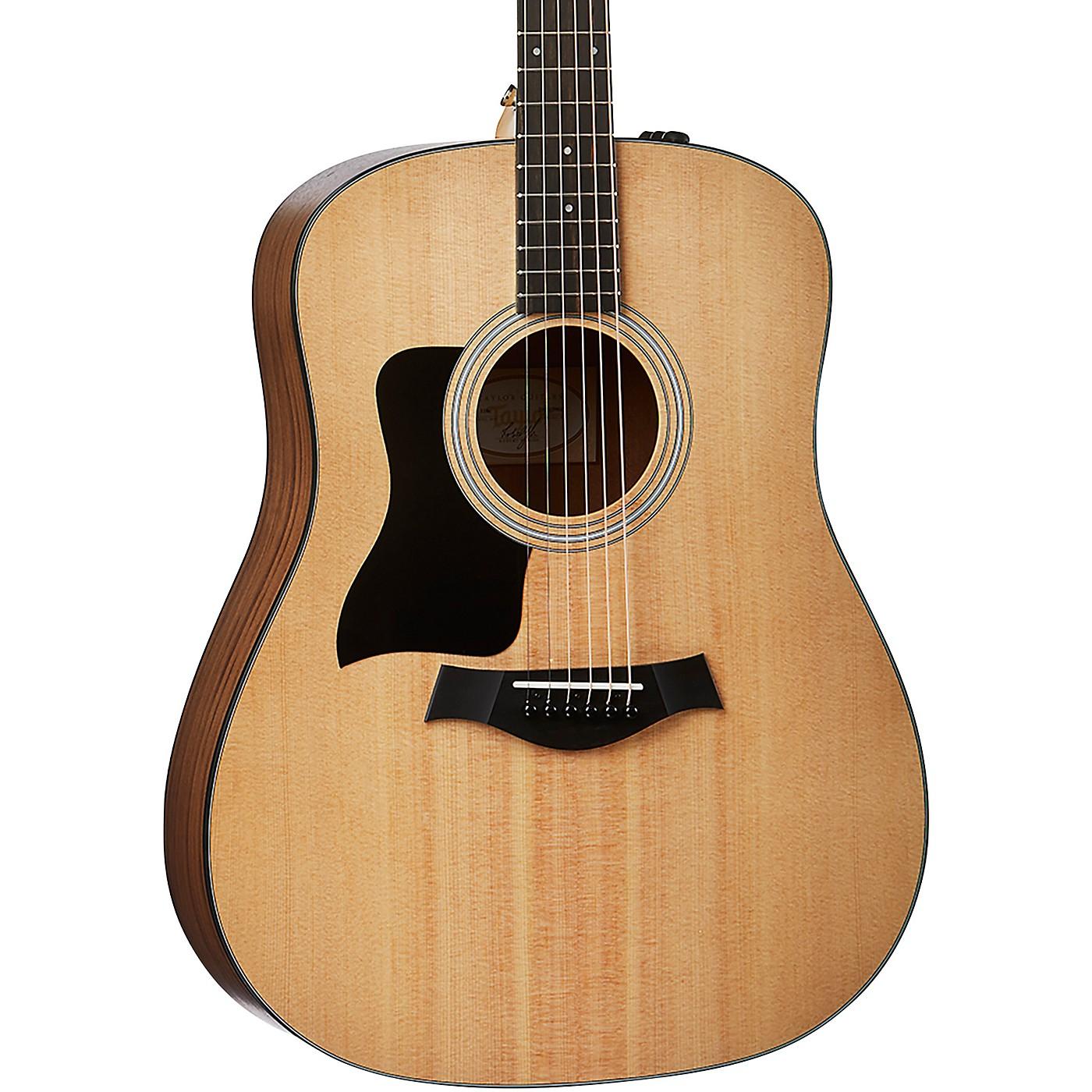 Taylor 110e-LH Left-Handed Dreadnought Acoustic-Electric Guitar thumbnail