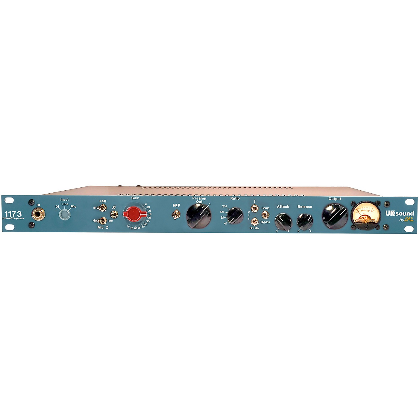 UK Sound 1173 Preamp and Compressor thumbnail