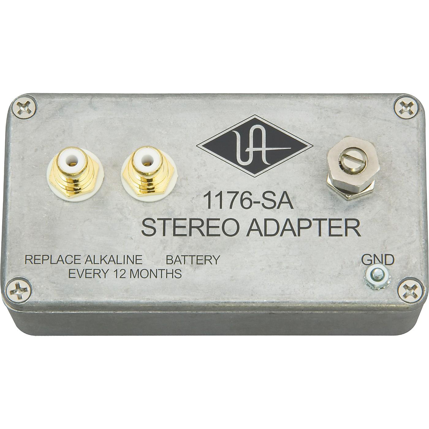 Universal Audio 1176SA Stereo Adapter thumbnail