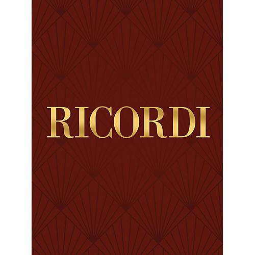 Ricordi 12 Composizioni Vocali Profane e Sacre (Voice and Piano) Vocal Collection Series by Claudio Monteverdi thumbnail