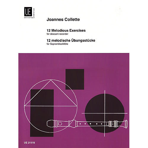 Theodore Presser 12 Melodic Studies (Book) thumbnail