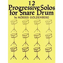 Hal Leonard 12 Progressive Solos for Snare Drum Book