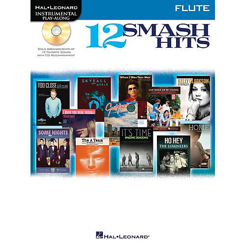 Hal Leonard 12 Smash Hits for Flute - Instrumental Play-Along Book/CD thumbnail