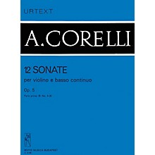 Editio Musica Budapest 12 Sonatas for Violin and Basso Continuo, Op. 5 - Volume 1b EMB Series by Arcangelo Corelli