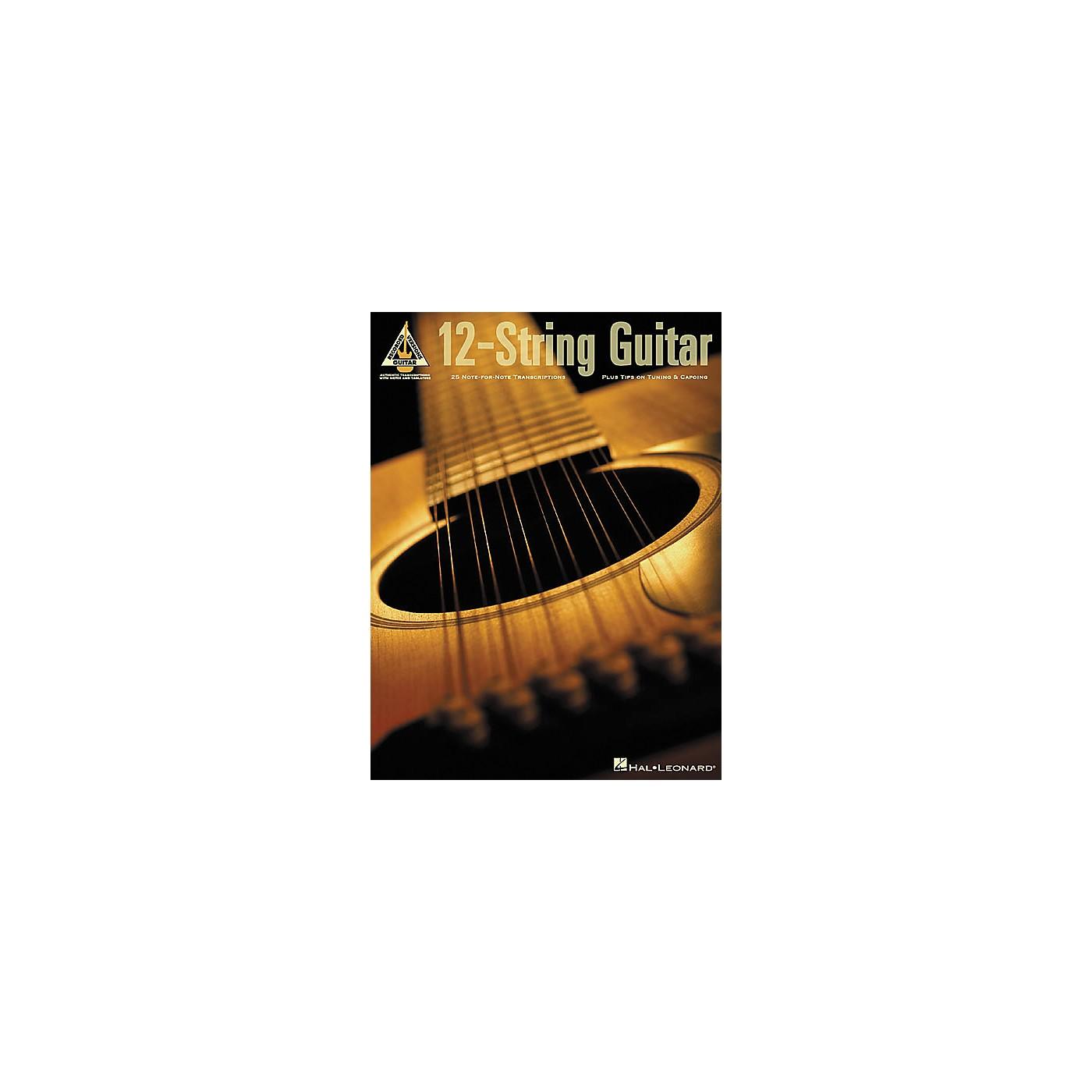Hal Leonard 12-String Guitar Guitar Tab Book thumbnail