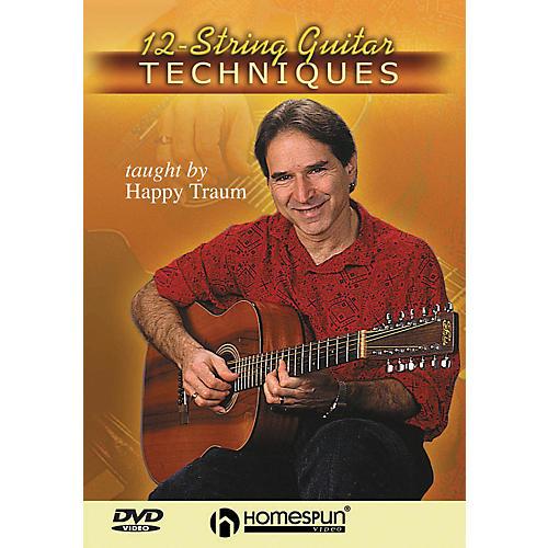 Homespun 12-String Guitar Techniques (DVD) thumbnail