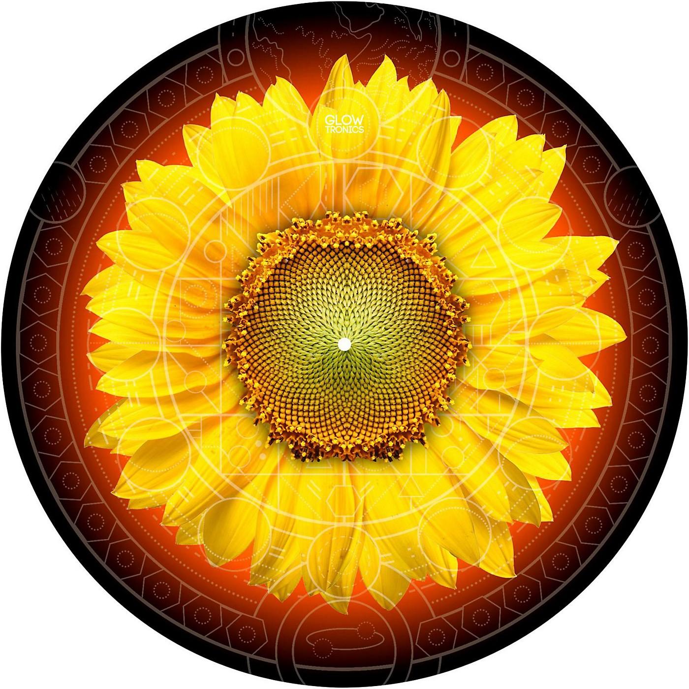 Glowtronics 12 in. Sunflower Glow-in-the-Dark DJ Slipmats thumbnail