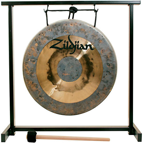 Zildjian 12 in. Traditional Gong and Table-Top Stand Set thumbnail