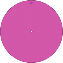 Glowtronics 12 in. UV-activated Pink Glow DJ Slipmat