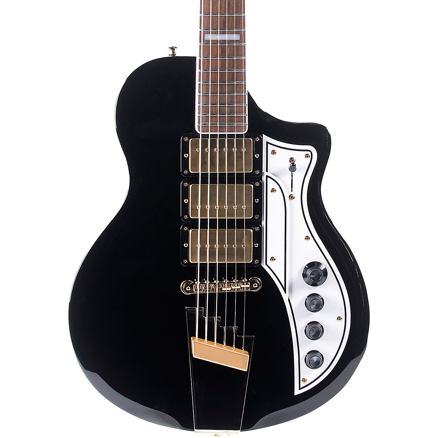 Supro 1275JB Supro Tri Tone Solid Body Electric Guitar thumbnail
