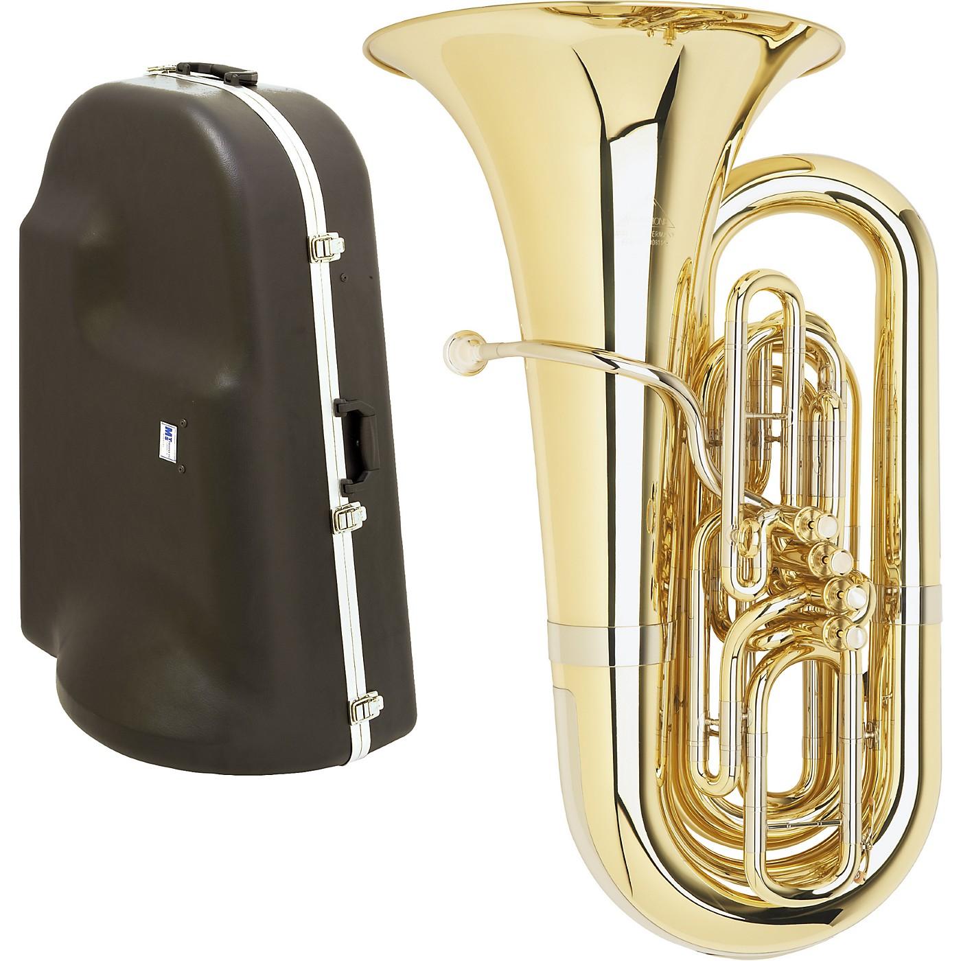 Miraphone 1291 Series 4-Valve BBb Tuba with Hard Case thumbnail