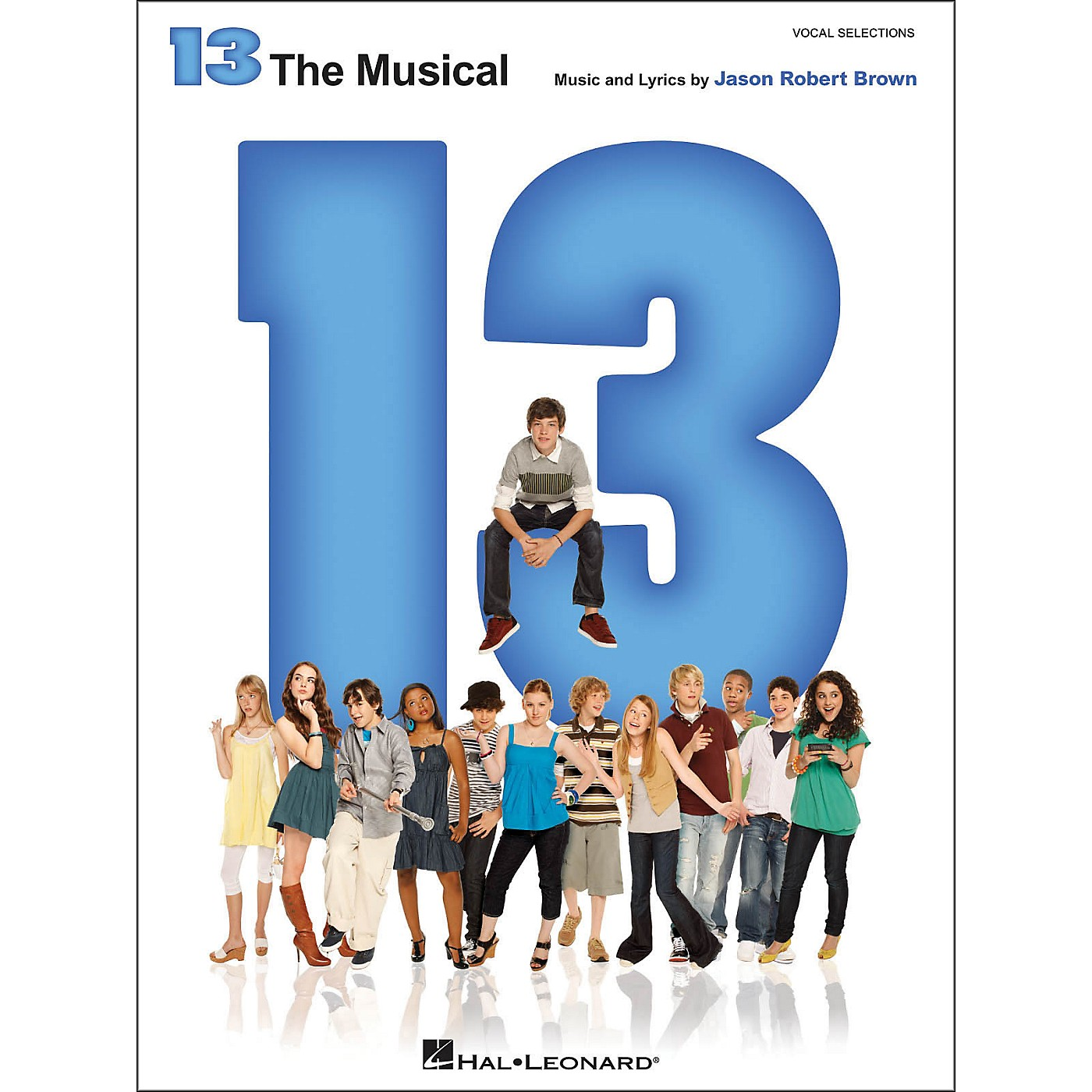 Hal Leonard 13 - The Broadway Musical Vocal Selections arranged for piano, vocal, and guitar (P/V/G) thumbnail