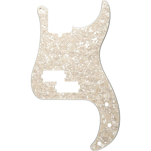 Fender 13 Hole Standard P Bass Pickguard Aged White Pearl thumbnail