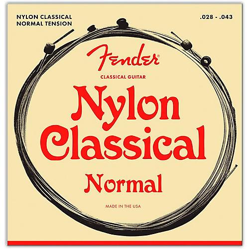 Fender 130 Clear/Silver Classical Nylon Guitar Strings - Ball End thumbnail