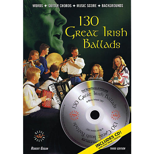 Music Sales 130 Great Irish Ballads Music Sales America Series Softcover with CD thumbnail