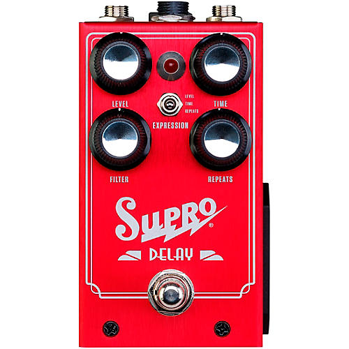 Supro 1313 Delay Effects Pedal thumbnail