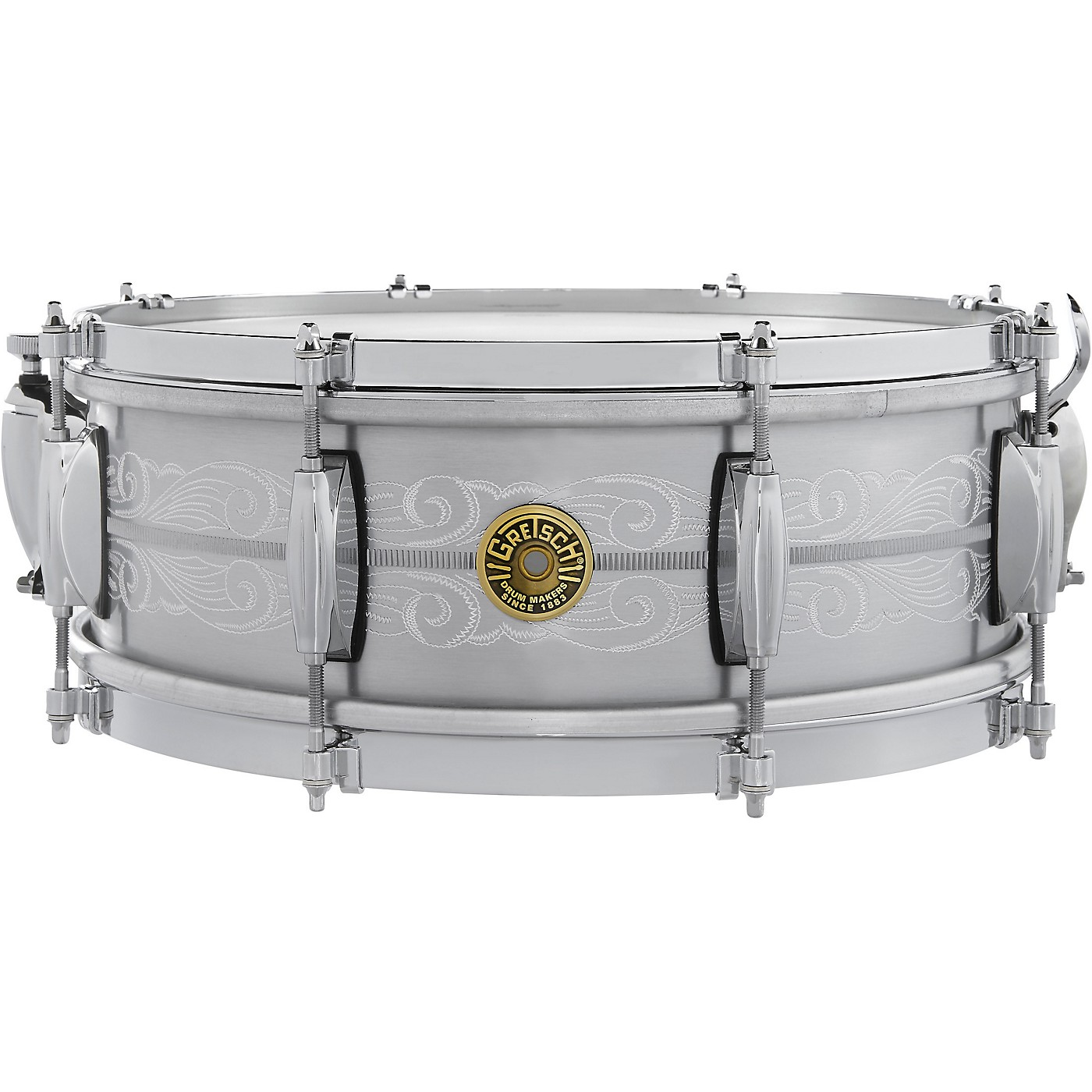 Gretsch Drums 135th Anniversary Solid Aluminum Snare Drum thumbnail