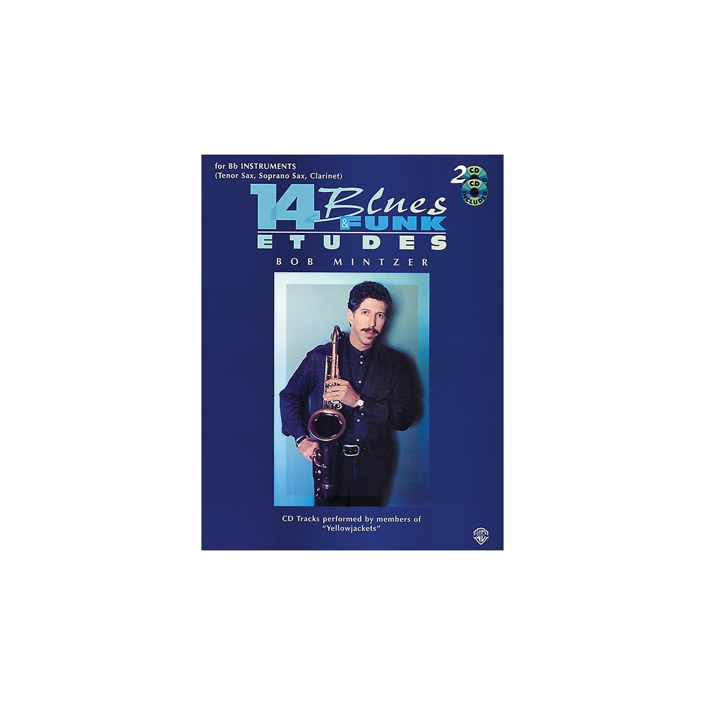 Alfred 14 Blues & Funk Etudes for B-Flat Instruments Book/2 CDs thumbnail