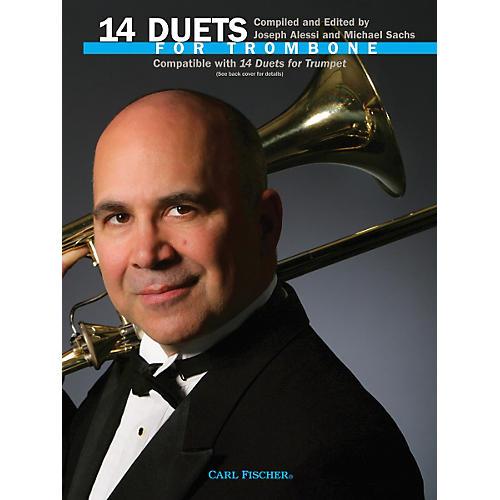 Carl Fischer 14 Duets for Trombone Book-thumbnail