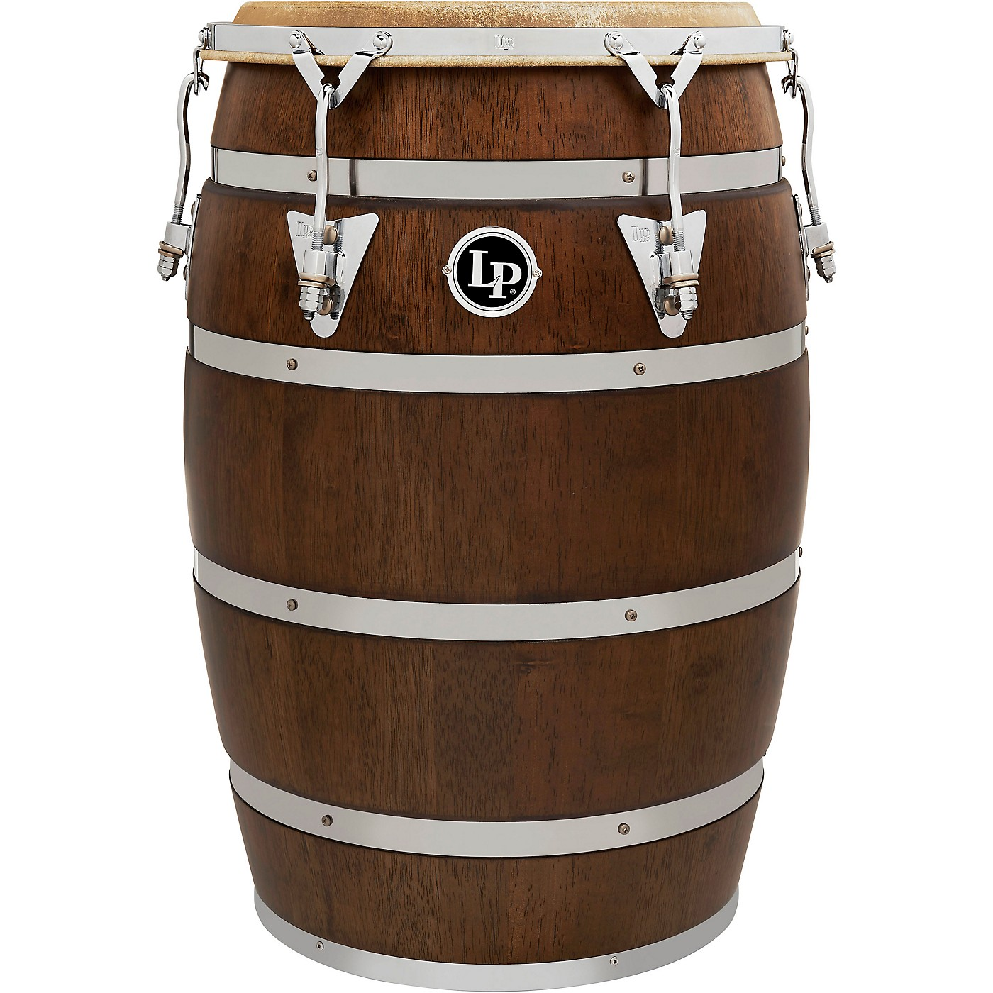 LP 14 In. Siam Oak Barril De Bomba with Chrome Plated Hardware thumbnail