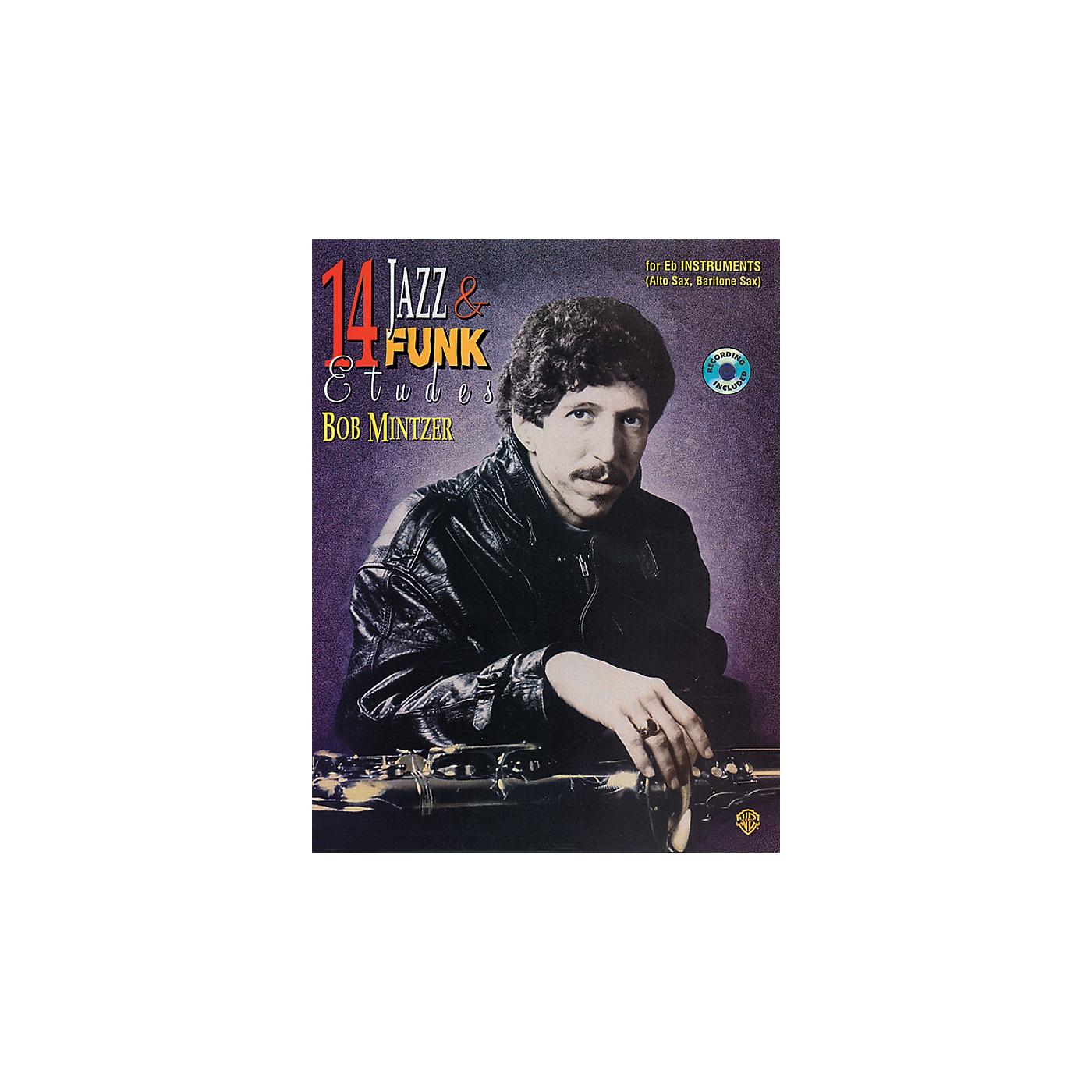 Alfred 14 Jazz & Funk Etudes Book/CD thumbnail