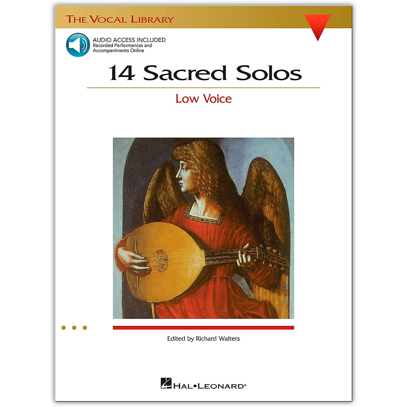 Hal Leonard 14 Sacred Solos for Low Voice (Book/Online Audio) thumbnail