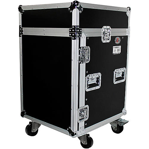 ProX 14U Rack x 10U Top Mixer DJ Combo Flight Case thumbnail
