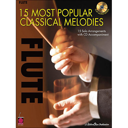 Cherry Lane 15 Most Popular Classical Melodies for Flute Book/CD thumbnail