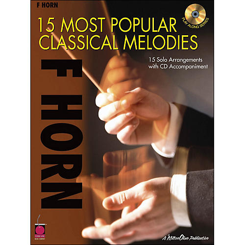 Cherry Lane 15 Most Popular Classical Melodies for French Horn Book/CD-thumbnail