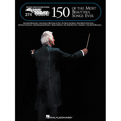 Hal Leonard 150 Of The Most Beautiful Songs Ever E-Z Play 274-thumbnail