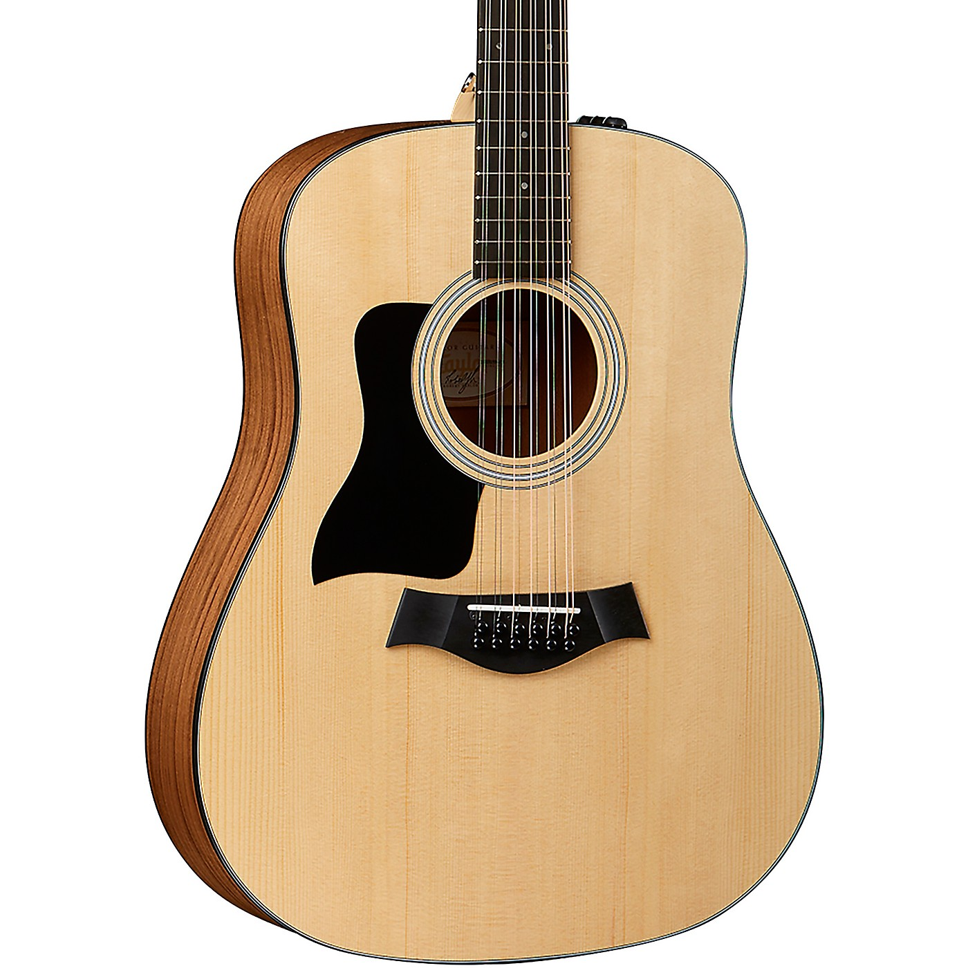 Taylor 150e-LH Left-Handed 12-String Dreadnought Acoustic-Electric Guitar thumbnail