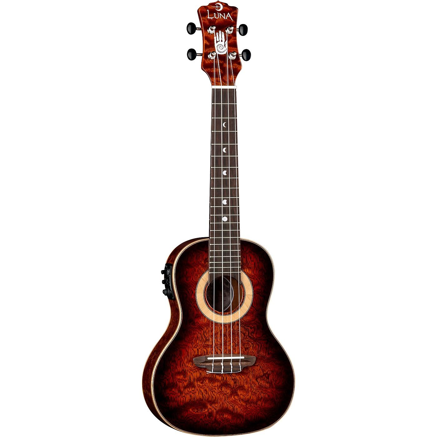 Luna Guitars 15th Anniversary Koa Concert Acoustic-Electric Ukulele thumbnail