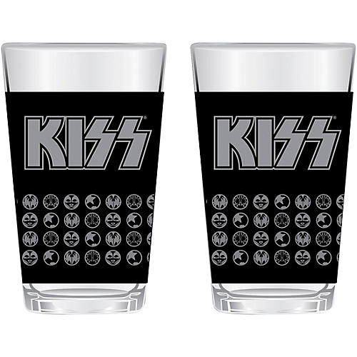 KISS 16 oz. Glass (Set of 2) thumbnail
