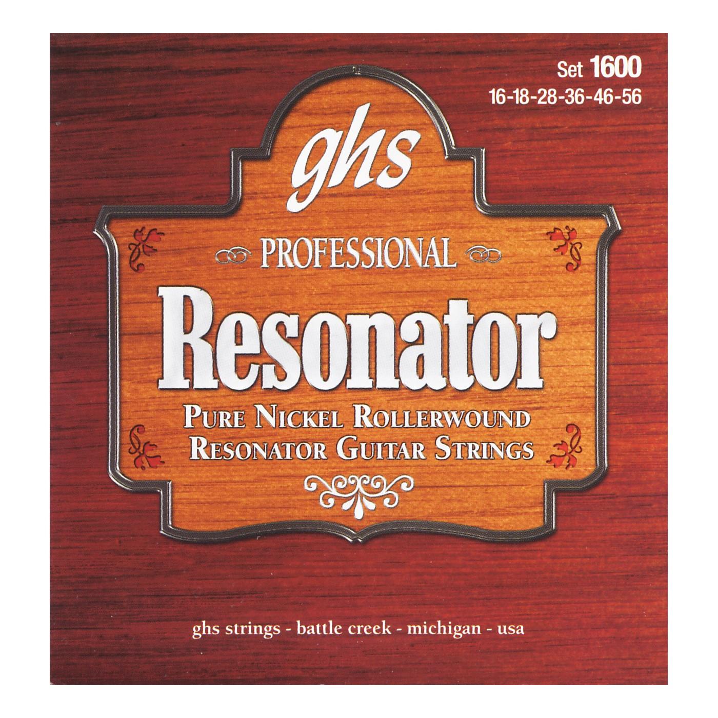 GHS 1600 Acoustic Slide Guitar Strings thumbnail