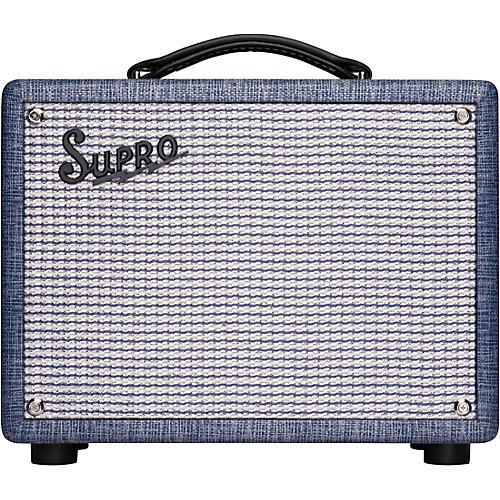 Supro 1605R Reverb 5W 1x8 Tube Guitar Combo Amp thumbnail