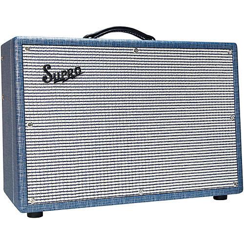 Supro 1624T Dual-Tone 24W 1x12 Tube Guitar Combo Amp thumbnail