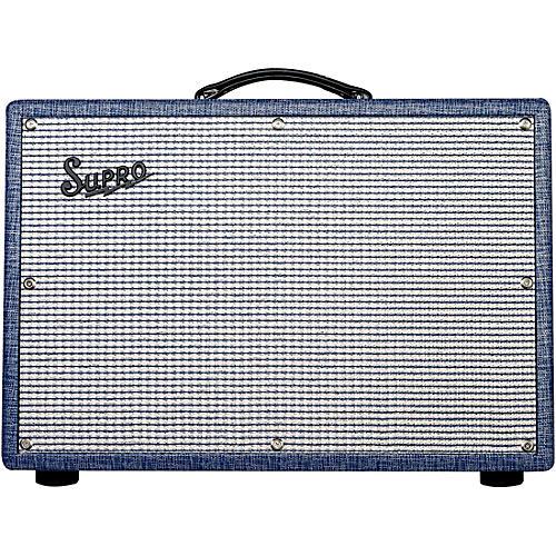 Supro 1650RT Royal Reverb 35/60W 2x10 Tube Guitar Combo Amp thumbnail