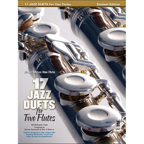 Music Minus One 17 Duets for Two Flutes Music Minus One Series Softcover with CD thumbnail