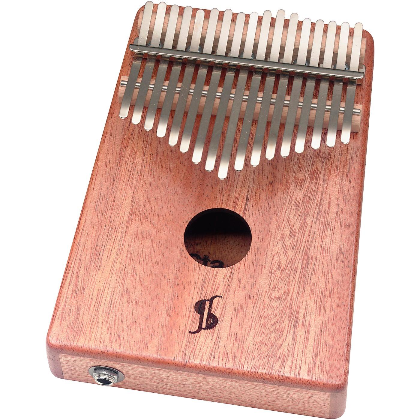 Stagg 17-Note Mahogany Acoustic/Electric Kalimba thumbnail