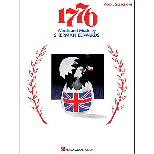 Hal Leonard 1776 Vocal Selections arranged for piano, vocal, and guitar (P/V/G) thumbnail
