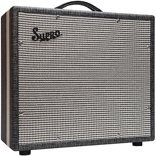 Supro 1790 Black Magick 1x12 Extension Cabinet thumbnail