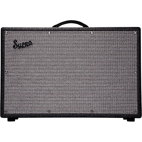 Supro 1799 Statesman 150W 2x12 Guitar Extension Speaker Cabinet thumbnail